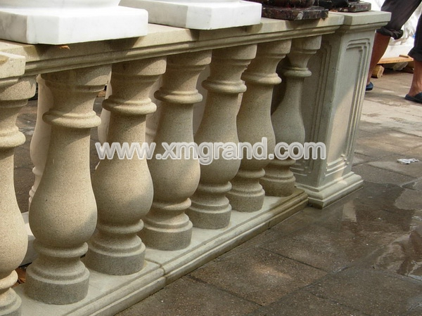 Yellow Marble Baluster